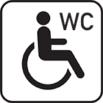 wheel chair wc